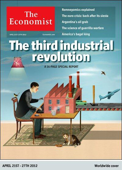 The Economist: The third industrial revolution.