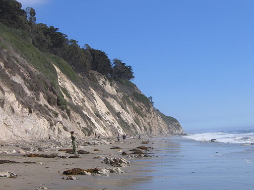 Cliffs at Arroyo Burro | Foto: Rebecca Stanek via wikimedia commons