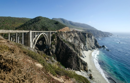 Bixby Creek Bridge – Route 1 | Foto: Tuxyso, via Wikimedia Commons