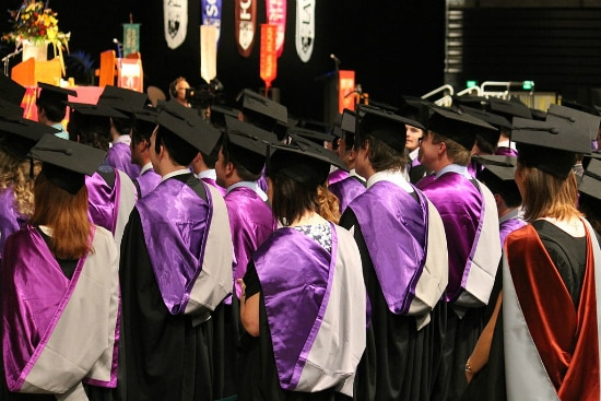 Formatura – Universidade de Canterbury | Foto: Schwede66, via Wikimedia Commons