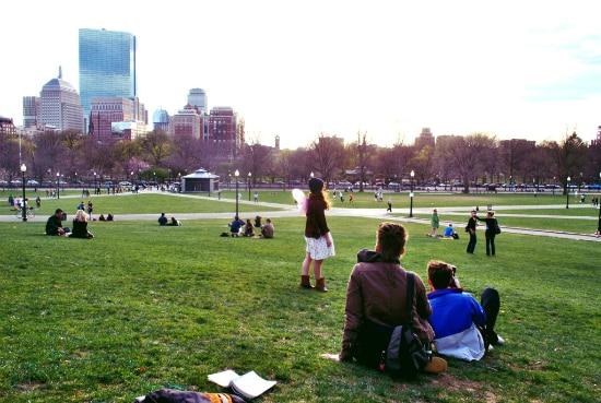Boston Common, parque público mais antigo dos EUA | Foto: Ethan Long via Wikimedia Commons