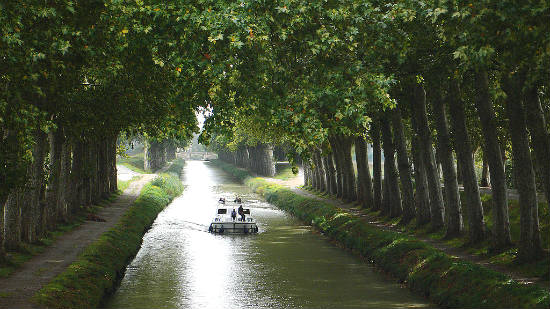 Canal du Midi | Foto: Peter Gugerell, via Wikimedia Commons