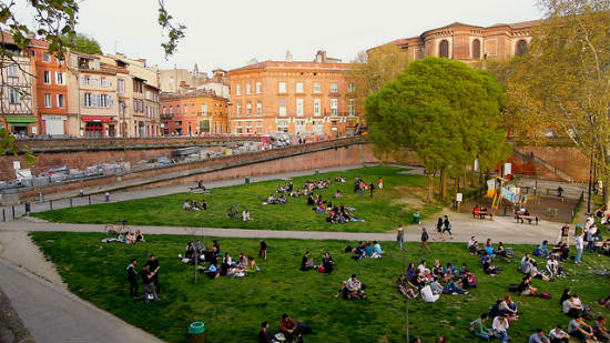 Palce de La Daurade, Toulouse | Foto: David McKelvey, via Flickr