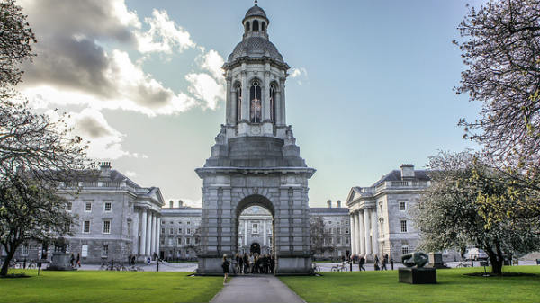 Estudar na Irlanda | Trinity College Dublin | Foto: William Murphy, via Flickr