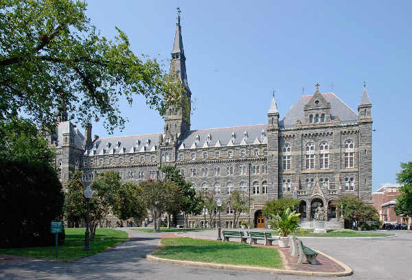 Universidade de Georgetown | Programa GCL | Foto: Flapane, via Wikimedia Commons