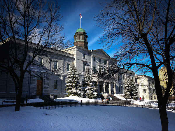 McGill University, Canadá | Foto: Guilhermeduartegarcia, via Wikimedia Commons