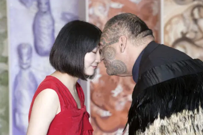 Hongi at Te Papa | Foto: via WellingtonNZ.com