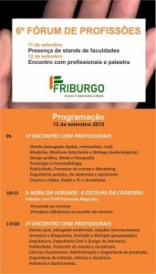 6º forum de profissoes