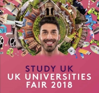 Visite a UK Universities Fair 2018, estude no Reino Unido