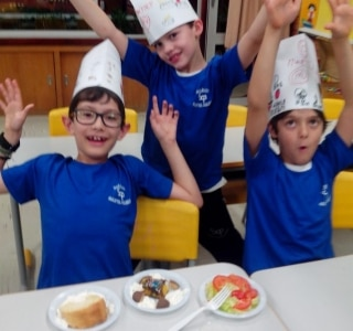 English class MasterChef Junior